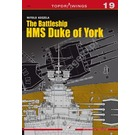 7019 The Battleship HMS Duke of York: Kagero Topdrawings 19