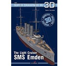 16037 The Light Cruiser SMS Emden super drawings in 3D